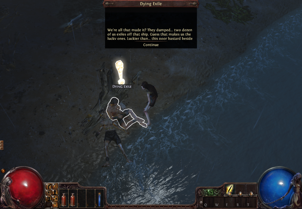 Path of Exile - Witch and Dying Exile