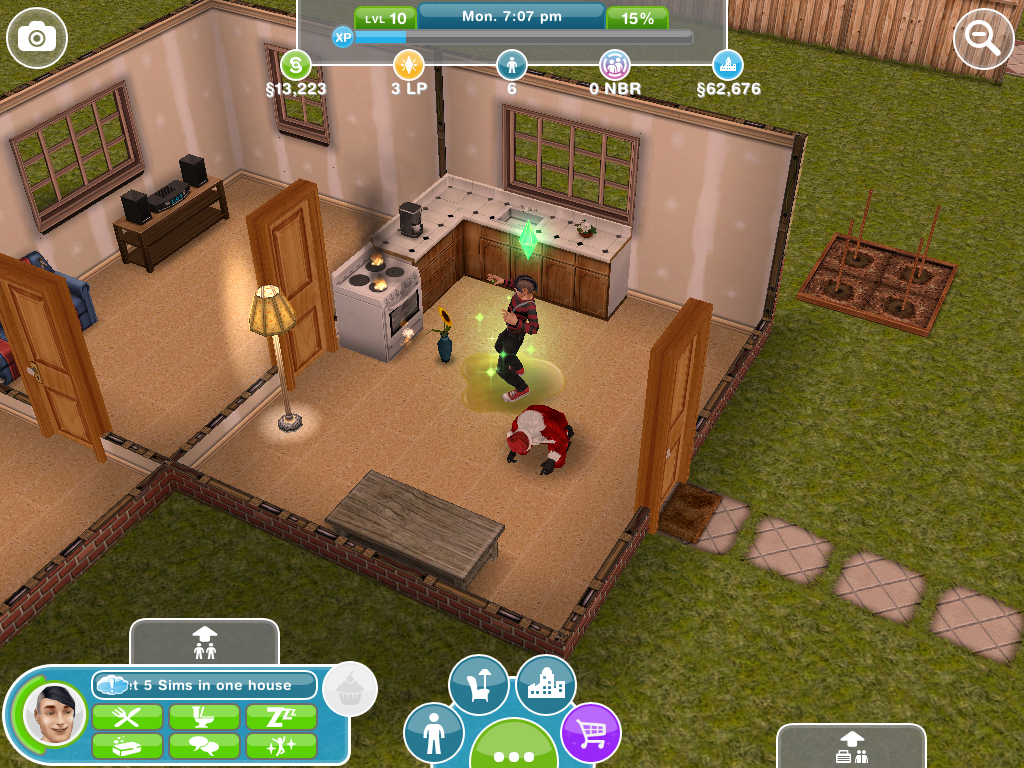 Santa Despairs of The Sims
