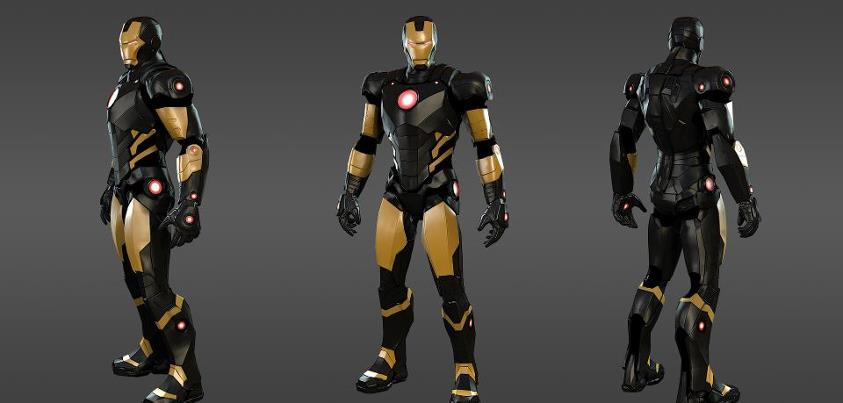 Marvel Heroes Iron Man Outfit