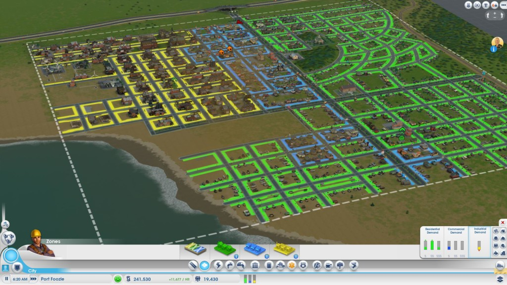 Sim City Small Cities