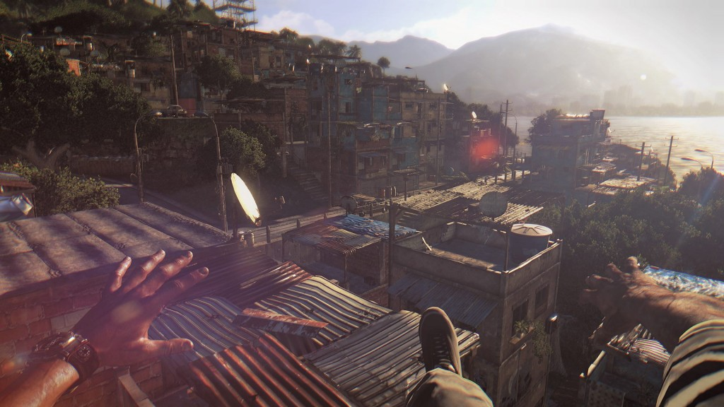 Dying Light - Parkour