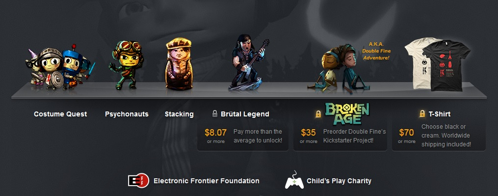 Humble Double Fine Bundle