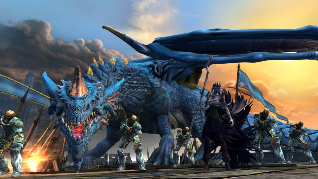 Neverwinter - Valindra and Dracolich