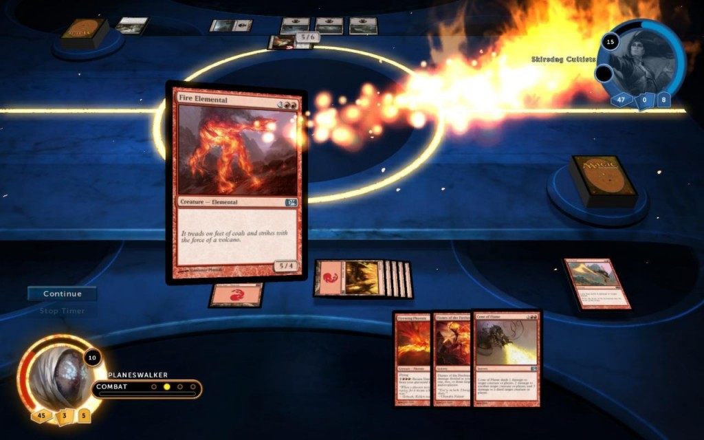 Magic 2014 - Duels of the Planeswalkers - Fire Elemental
