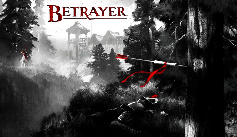 Betrayer - Art