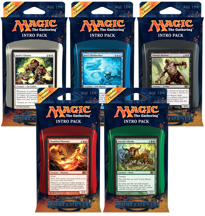 Magic 2014 Intro Packs