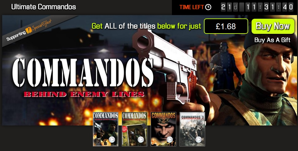 The Ultimate Commandos Bundle