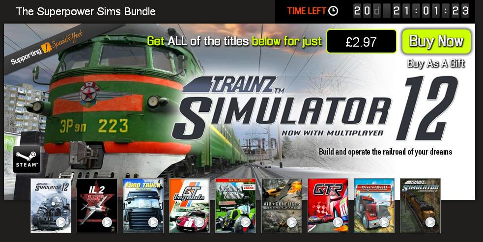 Bundle Stars - The Superpower Sims Bundle