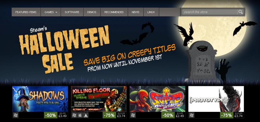 Steam Halloween Sale 2013